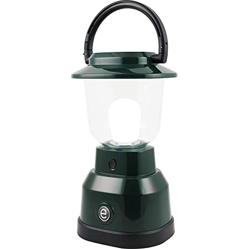 Enbrighten 11016 LED Lantern, Battery Operated, Bright White Finish, 500 Lumens, 180 Hour Runtime, 3 Light Levels, Ideal for Outdoors, Camping, Hurricane, Storm, Tornado & Emergency, Green   4D