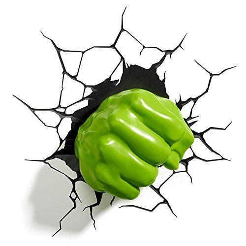 Diverse Marvel - Lampe Murale LED - Poing de Hulk