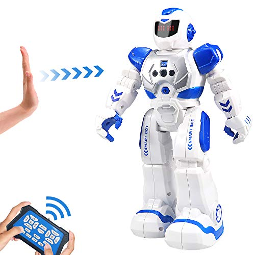 Elemusi Remote Wireless Control Robot for Kids Toys,Smart Programmable RC Robots with...
