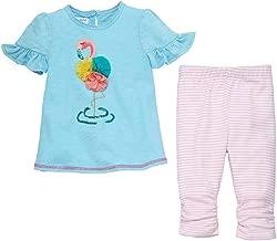 Mud Pie Baby Girl's Flamingo Tunic and Capris (Infant)