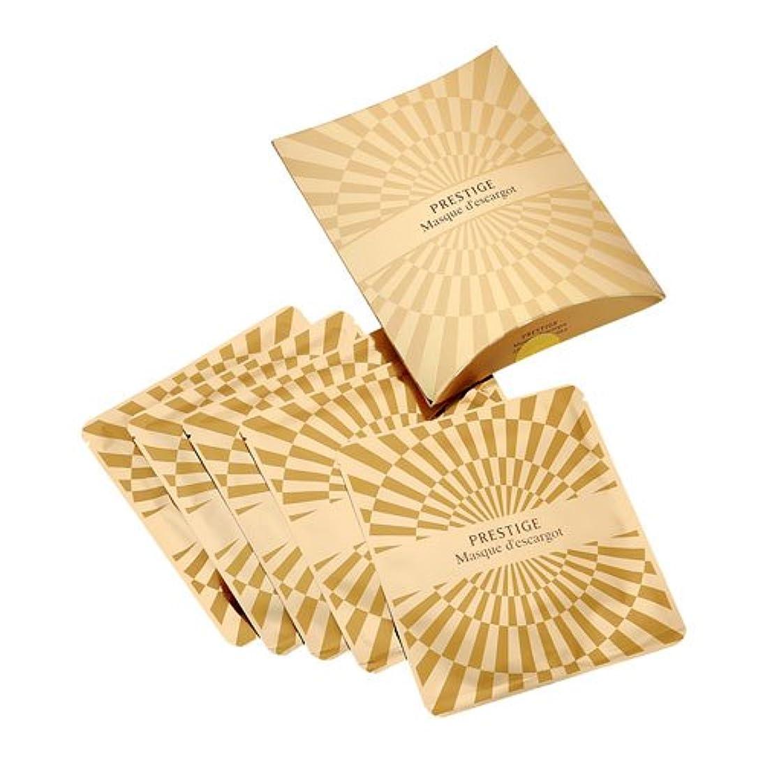シュガー炭素耐えられないIt's skin(イッツスキン) かたつむり成分配合 プレステージ マスク エスカルゴ しわ改善 25g×5