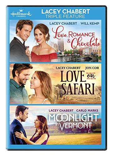 Lacey Chabert 3-Movie Collection (Love, Romance & Chocolate, Love on Safari, Moonlight In Vermont)