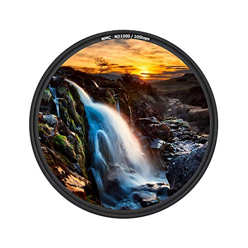 JJC 58mm ND Filter ND1000 10-Stop for Canon EOS Rebel T7 T6 T8i T7i T6i T5i SL3 SL2 90D 80D 70D 60D w/EF-S 18-55mm Kit Lens for Fuji Fujifilm X-T3 X-T2 X-T1 X-T30 X-T20 X-T10 w/XF 18-55mm Kit Lens