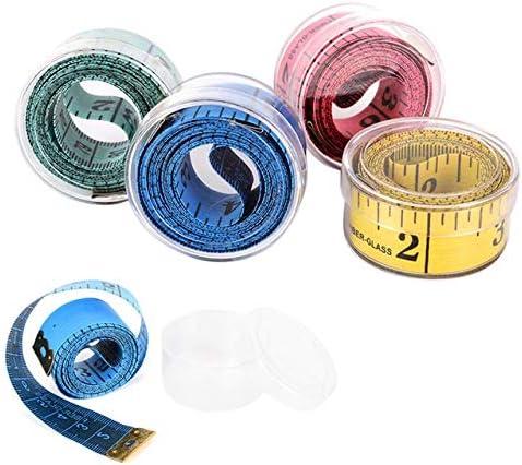 DORATA - Creative Retractable Ruler Key Measure safety Chain Tape Mini New Free Shipping