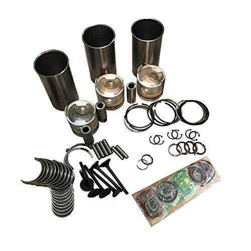 Overhaul Rebuild Kit for New Holland T3010 E30B E30BSR E35B E36B Engine 3TNV88