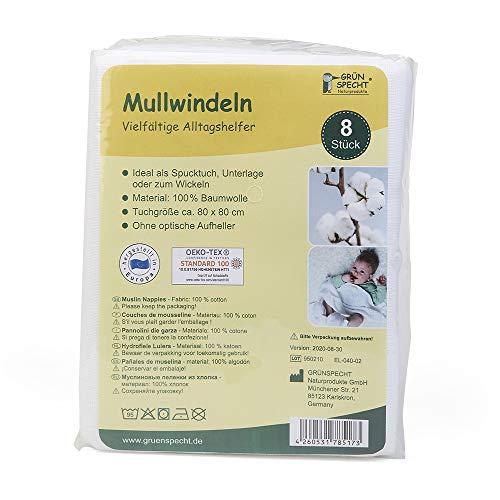 Grünspecht Naturprodukte -   598-00 Mullwindeln,