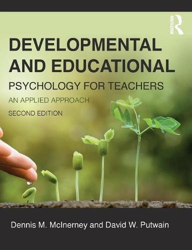 Compare Textbook Prices for Developmental and Educational Psychology for Teachers: An applied approach 2 Edition ISBN 9781138947726 by McInerney, Dennis,Putwain, David