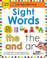 Sight Words: Wipe Clean With Pen & Flash Cards (Priddy Learning)