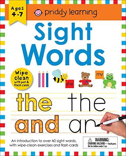 Wipe Clean Workbook: Sight Words (enclosed spiral binding) (Wipe Clean Learning Books)