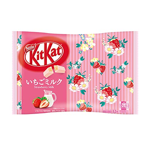 Japanese Mini KitKat Strawberry Milk
