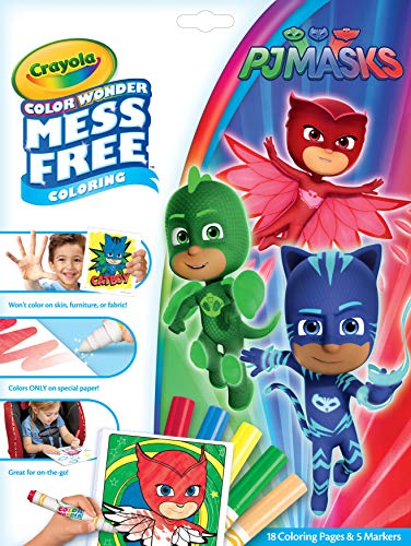 Crayola Color Wonder Pj Masks Coloring Pages Mess Free Coloring Gift For Kids Age 3 4 5 6 Buy Online In Gambia At Gambia Desertcart Com Productid 103233926