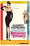 Theissen Breakfast at Tiffanys Audrey Hepburn Holly Golightly Romantic Comedy Movie Film Poster - Matte Poster Frameless Gift 11 x 17 pulgadas (28cm x 43cm) *IT-00174