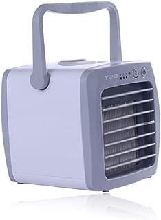 Uso en el hogar Uso práctico Enfriador Mesa de tamaño portátil Enfriador de Ventilador de Escritorio Enfriador de Aire Acondicionado Ventilador Regalo Uso de Verano - Blanco