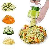 Best Spiral Slicers - Spiralizer Slicer 4 in 1 Adjustable Hand Vegetable Review