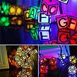 Décor De Noël Led String Light, Cube Lettres Lampe Fairy Lights Approprié Pour Chambre Salon...
