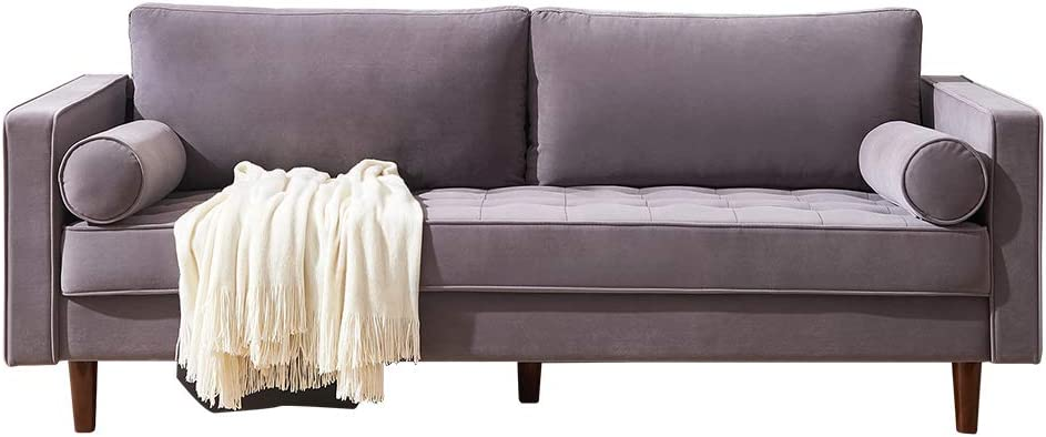 Special sale item Mid-Century Velvet Fabric Sofa Bench Couch W Choice Sectional 79
