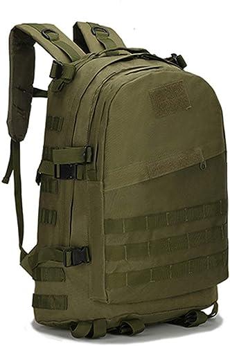 Pour des hommes Grande capacité Sac à Dos Militaire Sac à Dos étanche 3D Sac à Dos Nylon Armée Patrouille Camouflage Rucksuck Sacs (capacité   30-40L, Couleur   Army vert)