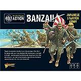 Bolt Action, Juegos,, Banzai Ej├йrcito de Arranque Japon├йs, Wargaming miniaturas