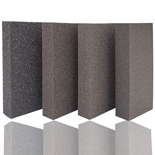 M-jump Drywall Sanding Sponge,Coarse/Medium/Fine/Superfine 4 Different Specifications Sanding Blocks Assortment - 4.875
