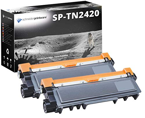 Printware toner | 50% hogere capaciteit | compatibel met Brother TN-2420 voor Brother DCP-L2510D DCPL-2530DW DCP-L2550DN HL L2310D L2350DW L2370DN L2375DW MFC L2710DW L2730DW L2750DW
