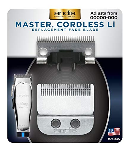 Andis Master Cordless Replacement Fade Blade (Pack of 1)