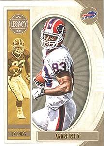 Football NFL 2019 Panini Legacy #138 Andre Reed Legend Bills