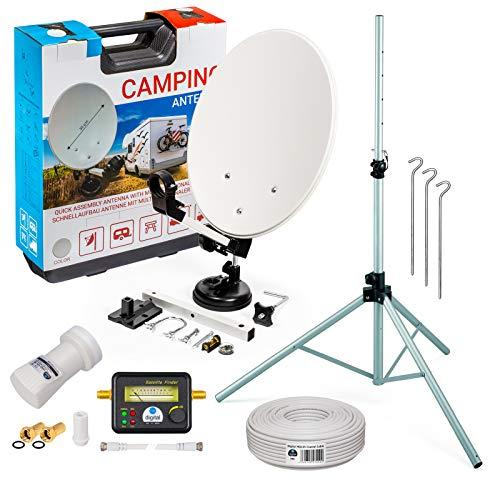 HB-DIGITAL Camping Sat Anlage im Koffer:...
