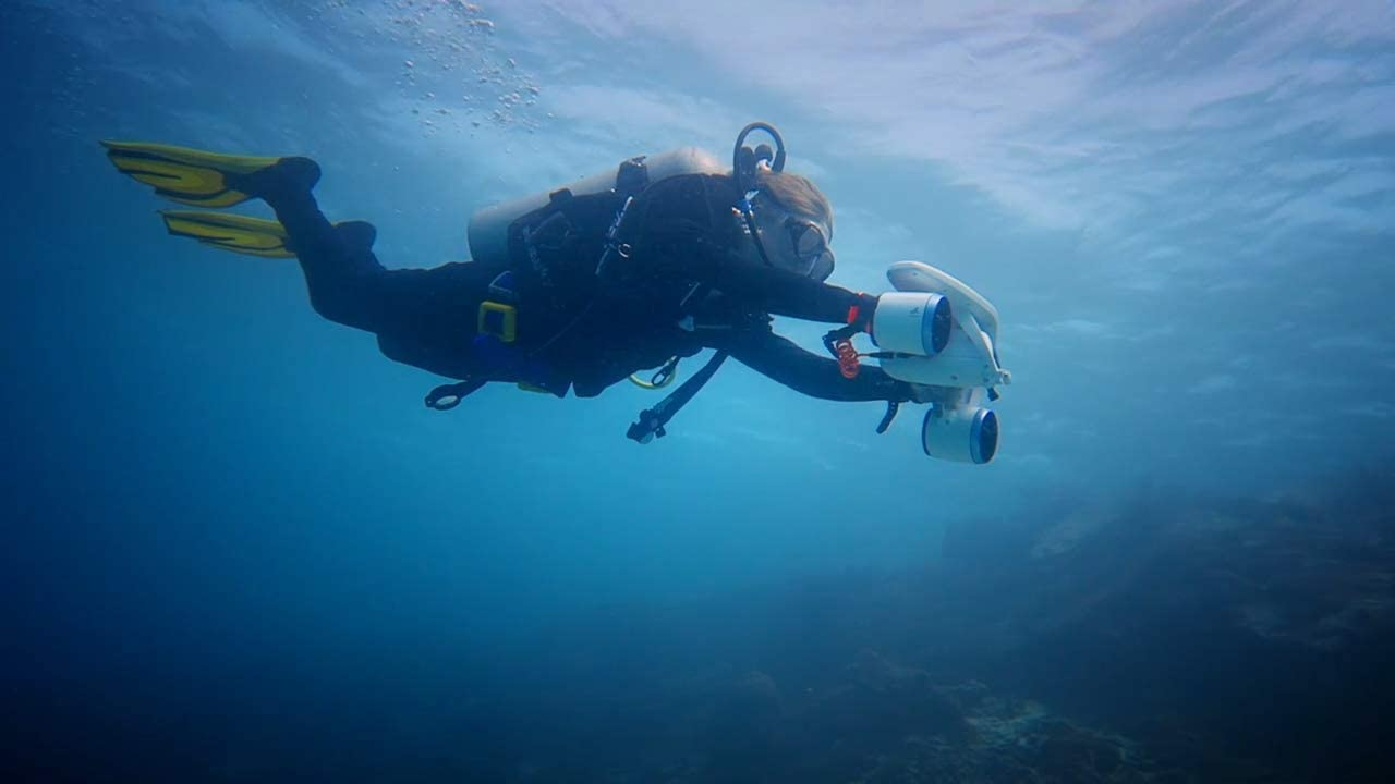 7.99 Sublue Whiteshark Underwater Scooter on WOOT!