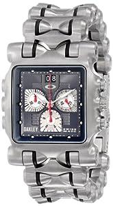 Oakley Men's 10-193 Minute Machine Titanium Bracelet Edition Titanium Chronograph Watch image