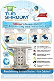 A Revolution in Drain Protection: Unlike regular plugs that go over the drain, TubShroom fits inside, neatly collecting hair around it. When it's time to cleanup, simply wipe TubShroom off and GO! No harsh chemicals, no more tangled messes. No More C...