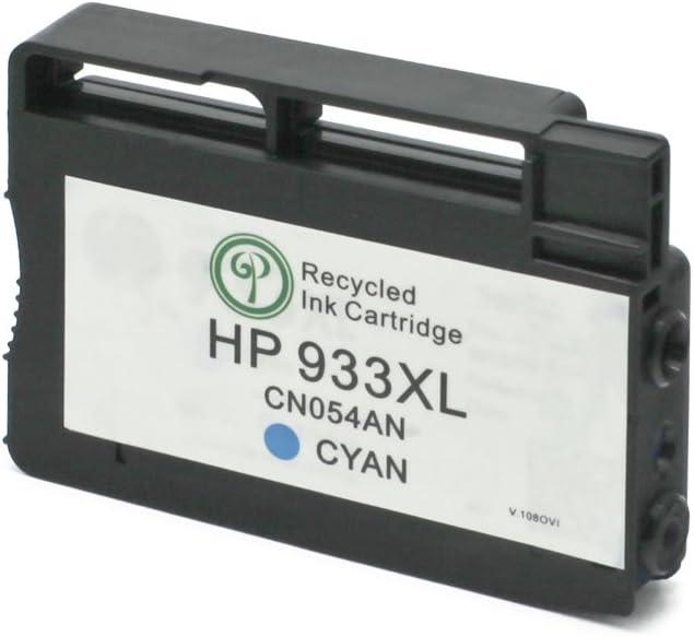Monoprice 110716 MPI Remanufactured HP 933XL (CN054AN) High Yield Inkjet - Cyan