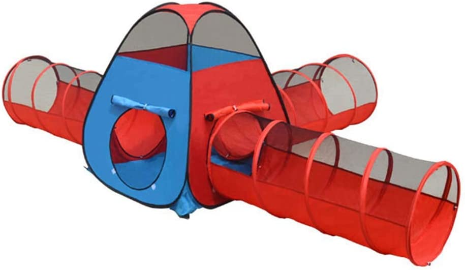 LINGLING Kids' Play Tents Seattle Mall and Tunnels Tent for Gi Hoop Playhouse SEAL limited product