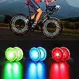 RetroFun 6 Stück Fahrrad Speichenlicht, wasserdichtes Fahrrad Rad Speichenlichter LED Fahrrad Fahrrad Rad Licht für Erwachsene Kinder Fahrrad für sicheres Radfahren