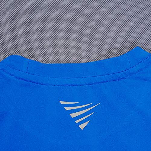 OXENSPORT Funktionsshirt Herren, Kompressionsshirt Fitness Kurzarm, Laufshirt Männer, Sportshirts Atmungsaktiv - 6