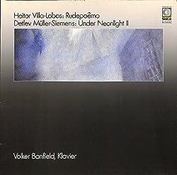 ヴィラ=ロボス「野生の詩」(1985 GERMANY WERGO ORIGINAL,WER60110)(長岡鉄男の外盤A級)[フォルカー・バンフィールド][LP盤]