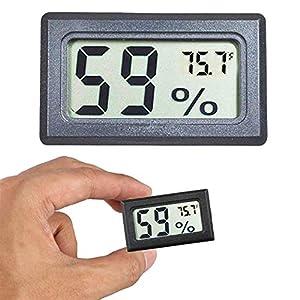 Goabroa Mini Hygrometer Thermometer Digital Indoor Humidity Gauge Monitor with Temperature Meter Sensor Fahrenheit (?)
