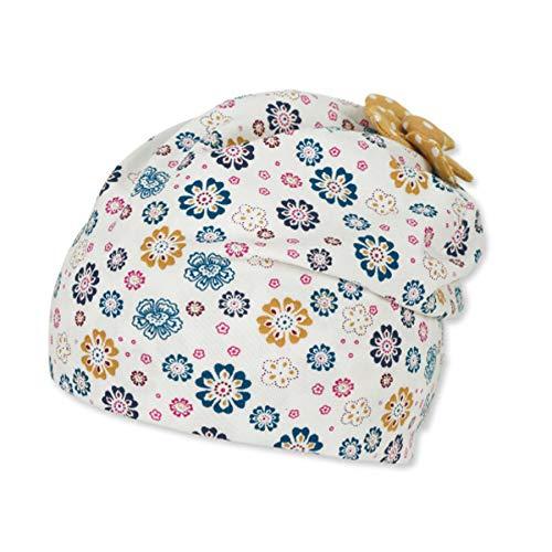 Sterntaler Baby-Mädchen Slouch 1402162 Beanie-Mütze, Beige, 49