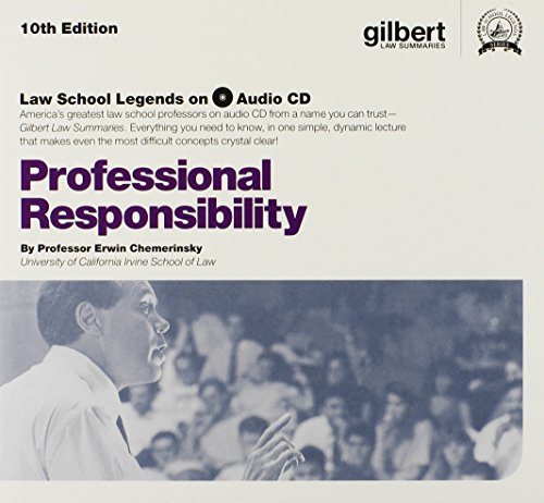 Law School Legends Audio on Professional Responsibility (Law School Legends Audio Series)