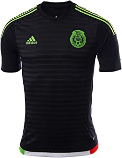 Mexico 2015 Authentic Home Dark Shale/Semi Solar Green Jersey