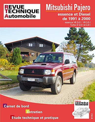 E.T.A.I - Revue Technique Automobile 387 - MITSUBISHI PAJERO II - 1991 à 2000