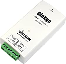 ViewTool Ginkgo USB to CAN Interface Adapter Support Windows/Linux/Mac/Android/Raspberry Pi, USB-CAN Connector/Analyzer 2500VRMS Isolation Open Source Available