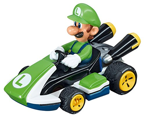 Carrera Go!!! - 20064034 - Voiture De Circuit - Nintendo Mario Kart 8 - Luigi