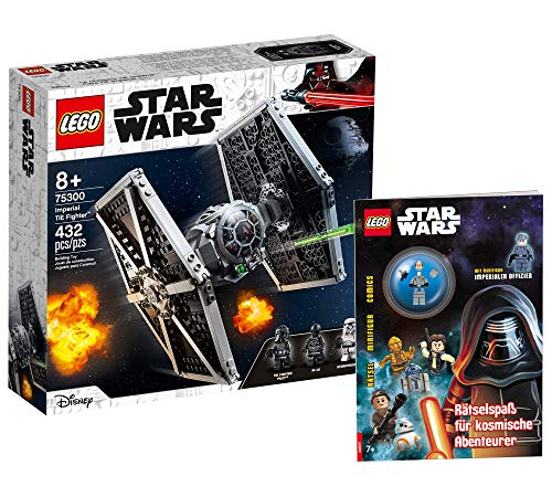 Collectix Lego Set – Lego Star Wars Imperial TIE Fighter 75300 + Lego Star Wars – Aventureros cósmicos (cubierta blanda)
