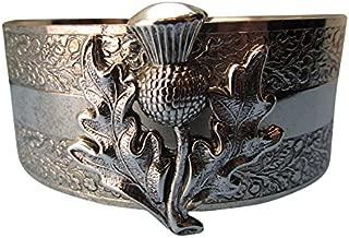 Thistle Cuff Scottish Thistle Bold outlander cuff Angelina Verbuni Designer Made in USA