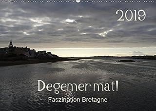 Degemer mat: Faszination Bretagne (Wandkalender 2019 DIN A2 quer): Spannende, stimmungsvolle Bilder aus einer der schoensten Regionen Europas. (Monatskalender, 14 Seiten )