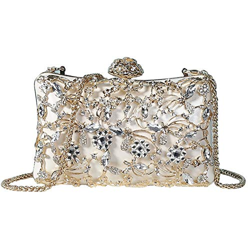 Warm Home Koreaanse mode diamanten jurk banket Ms. Koppelingsketting Messenger wilde avondtas 22 * 4,5 * 11,5 cm Nice