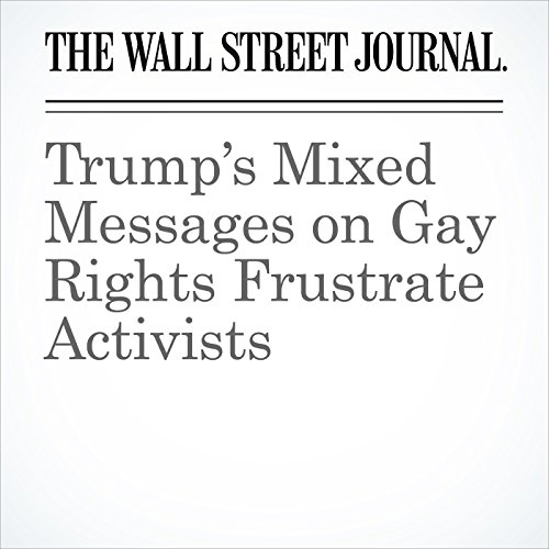 Trump's Mixed Messages on Gay Rights Frustrate Activists copertina