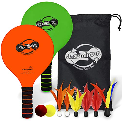 Funsparks Paddle Ball Game Jazzminton...