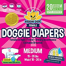 Bodhi Disposable Dog Female Diapers