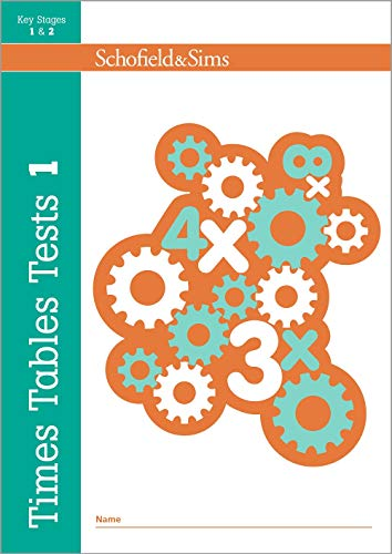 Times Tables Tests 1: KS1/KS2 Maths, Ages 5-8